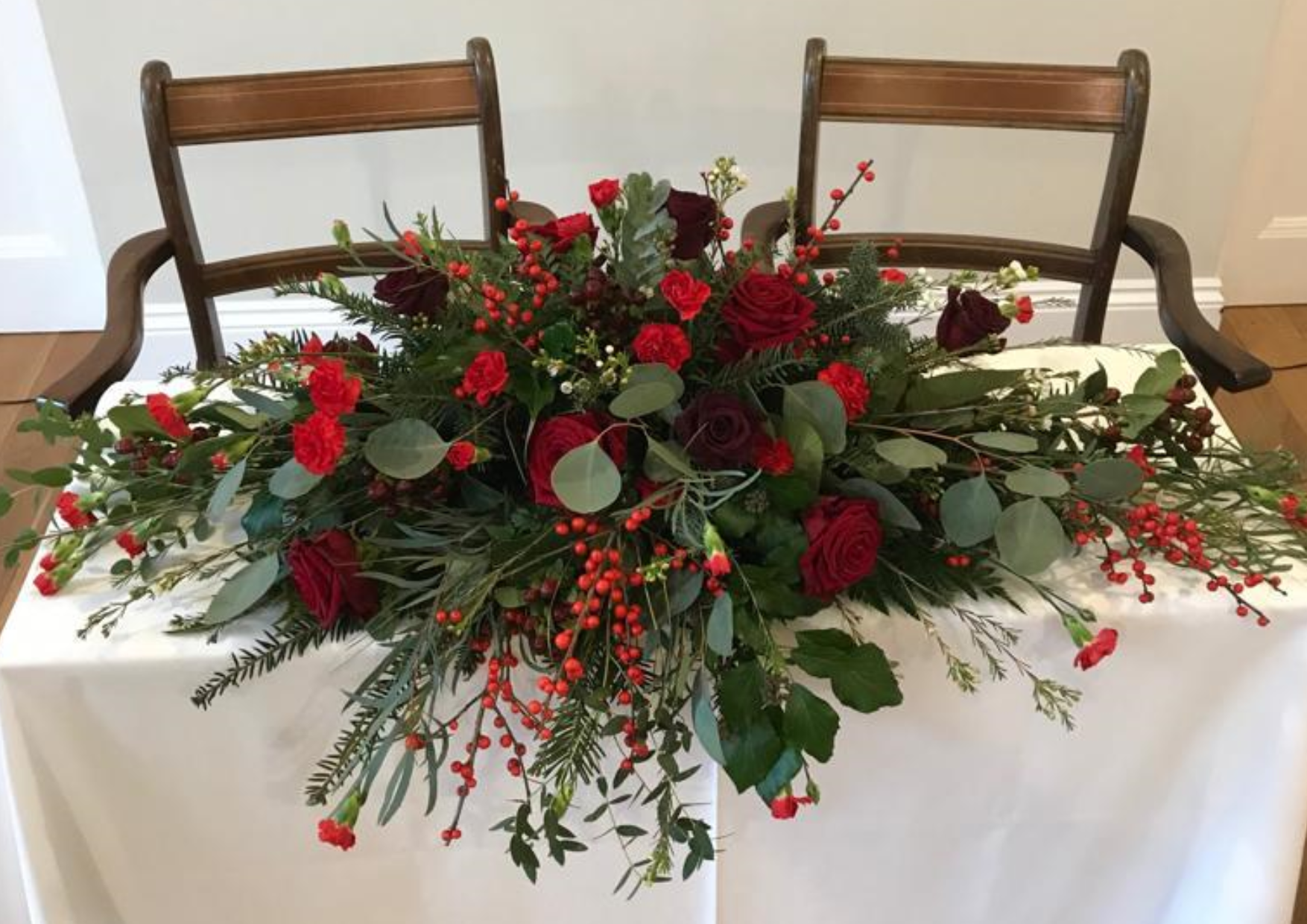 Table Decoration by Hive Garden Flowers